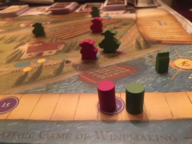 Viticulture Essential Edition Meeples