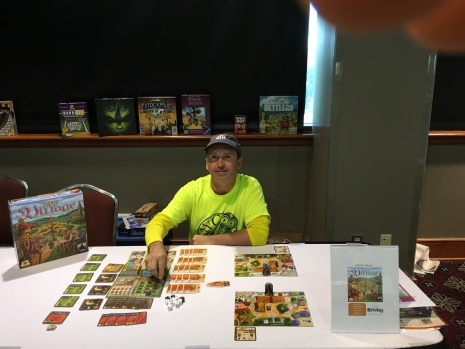 My Village demo -- people loved the bits and colorful artwork.